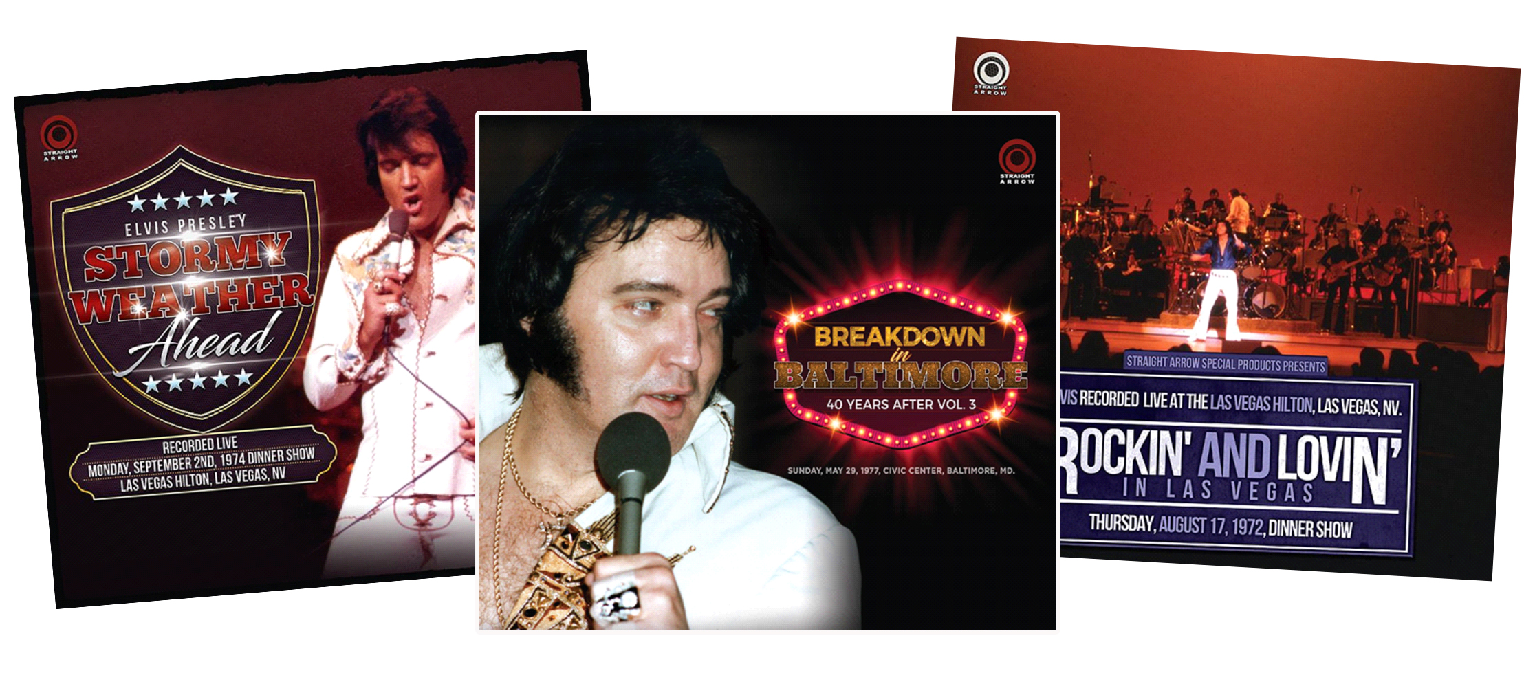 Three New CD Releases From Straight Arrow « Essential Elvis